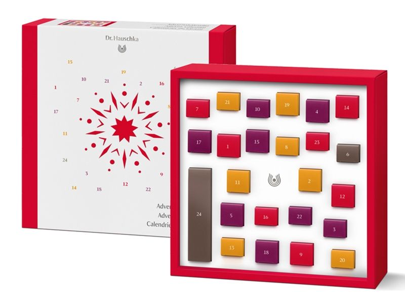 Dr.Hauschka 德國世家2017聖誕倒數驚喜禮盒,NT4,200。全台限量100個。
