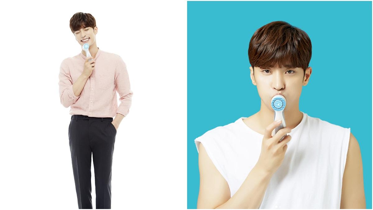 本部長又要來台灣了!成勛為NU SKIN代言全新美容儀LumiSpa,還在廣告中大秀好身材