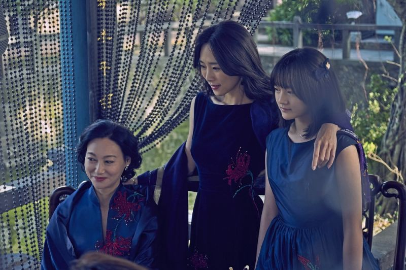 文淇在《血觀音》中,與惠英紅和吳可熙有心機糾結的精彩對手戲