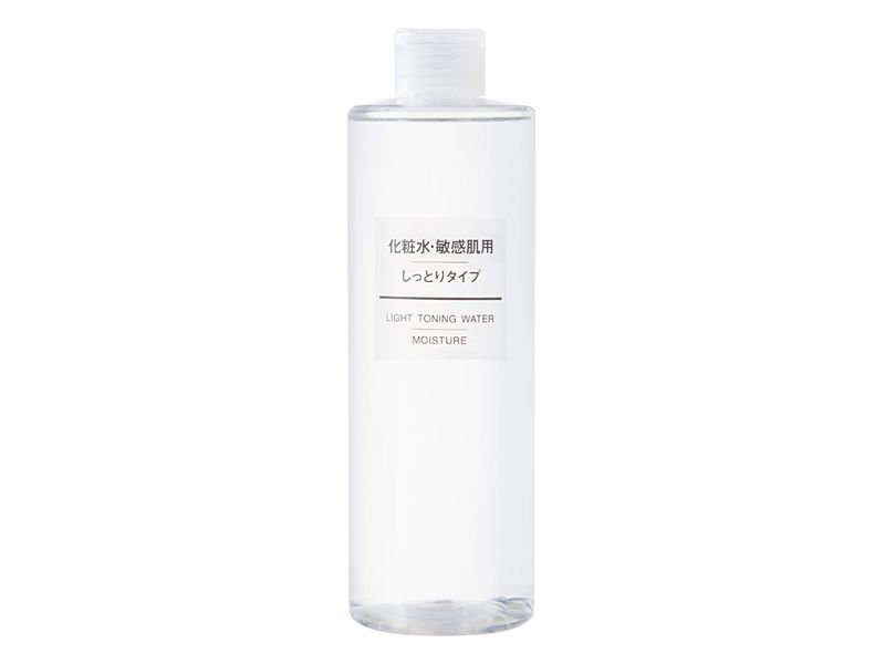 MUJI無印良品敏感肌化妝水(滋潤型)400ml,NT420