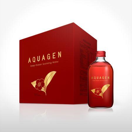 AQUAGEN海洋深層氣泡水-斯里蘭卡山茶風味第二箱6折
