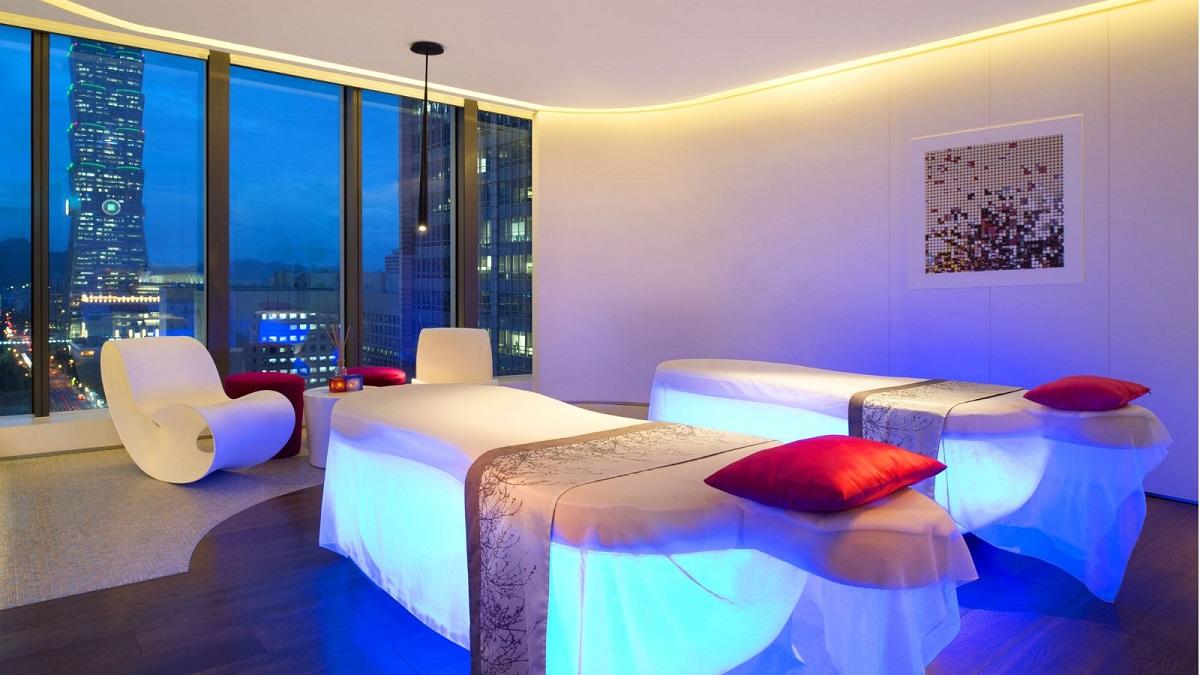 揭密W hotel最頂級Spa【Away紓壓艙】內超大專屬浴池加上絶美好View~約閨蜜來當一日女王!