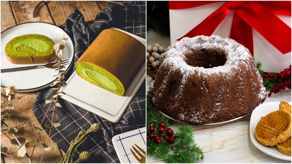 超濃郁的GC法式抹茶蛋糕卷最後一批開賣,還有耶誕節必吃的咕咕洛夫皇冠蛋糕