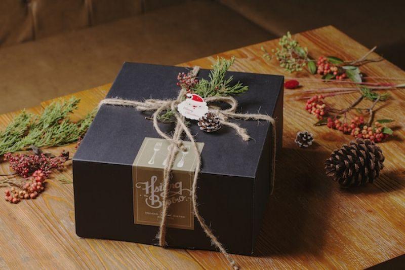 聖誕烤雞禮盒外觀