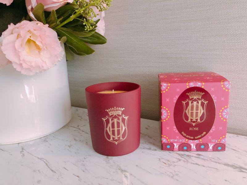Sisley 限定香氛蠟燭(#玫瑰Rose) 5.8oz,58,00€