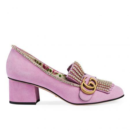 GG Marmont 水晶裝飾高跟鞋, NT$ 46,600
