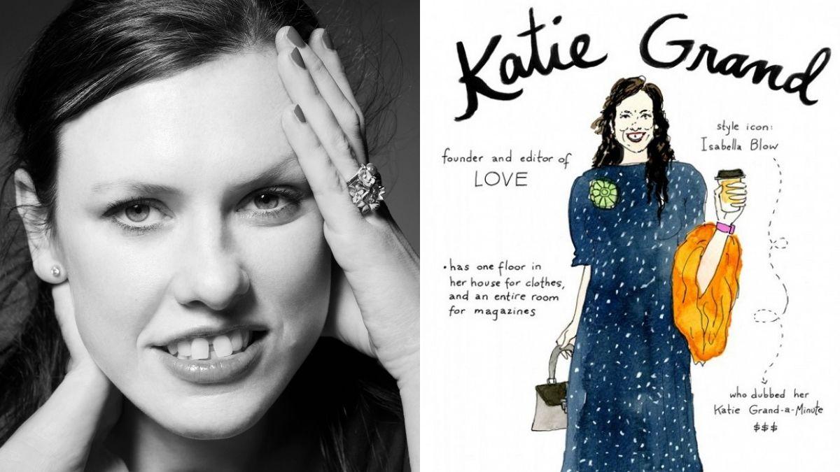 時尚界不可或缺的「英倫女魔頭」Katie Grand 造型整理!