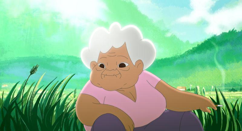 阿美族的阿嬤,是小琪的心靈導師