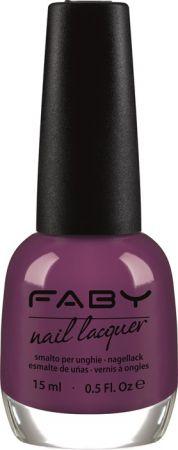 FABY 紫色系指彩代表(紫羅蘭餅乾)15ml,NT460