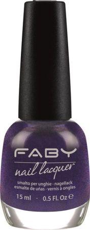 FABY 紫色系指彩代表(遇見佛羅倫斯)15ml,NT460