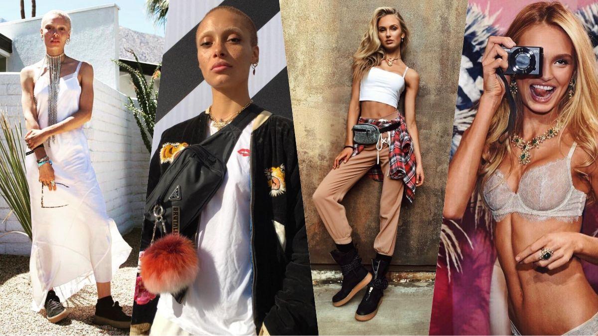 誰是2017年公正最美的街拍女王?答案揭曉!新銳模特Adwoa Aboa&維秘天使Romee Strijd