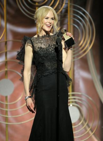 電視電影或迷你影集最佳女主角妮可基嫚(Nicole Kidman)/《美麗心計》