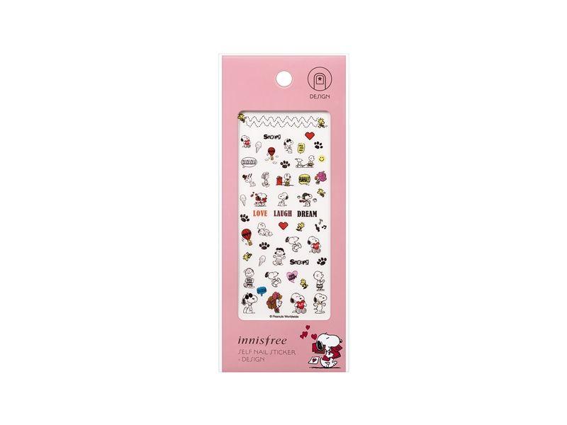 innisfree X Snoopy指甲彩繪貼紙,NT120