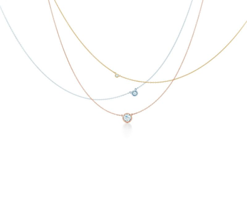 Tiffany Diamonds by the Yard 鑽石項鍊,參考價格 - 鑽石主石0.05克拉起,NT$22,000起