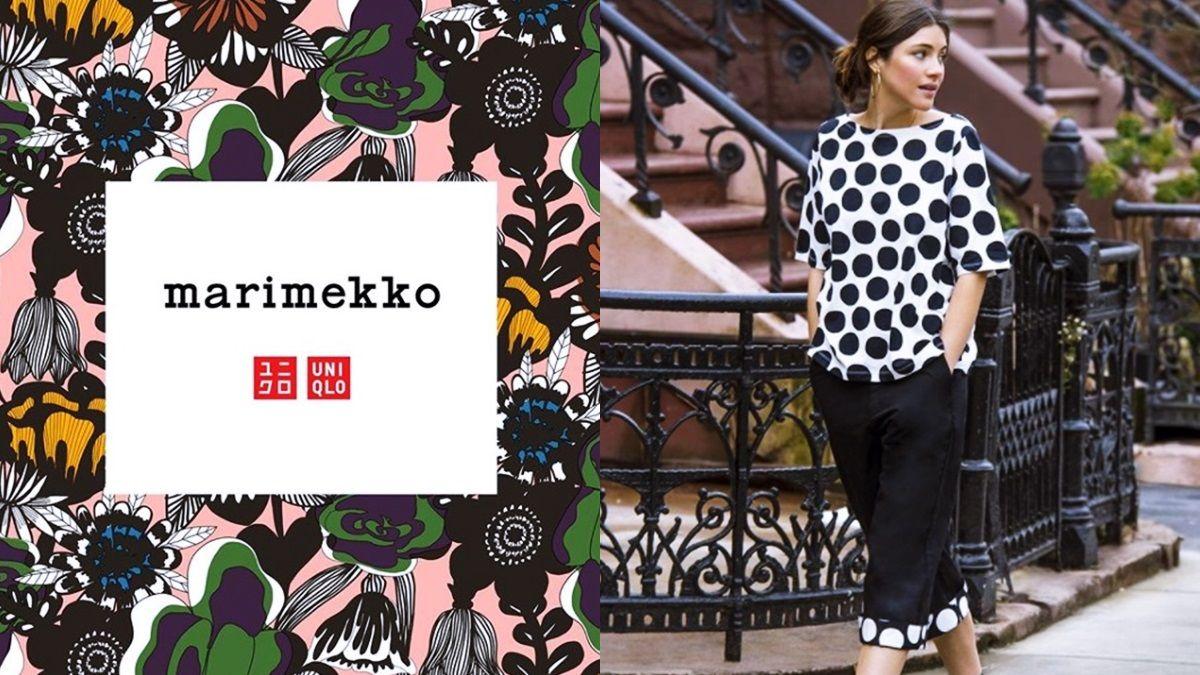 印花迷請筆記開賣日期!UNIQLO x Marimekko聯名系列,繽紛單品搶先看
