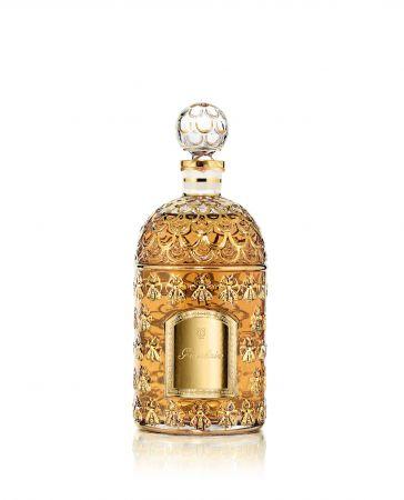 帝王香水 金色帝王蜂印瓶Gold Bee Bottle250ml/NT19,700,500ml/NT29,940 ,1000ml/NT49,100(共5款香氣,金瓶僅限嬌蘭VIP憑VIP活動邀約,於活動現場以預訂方式訂購入)