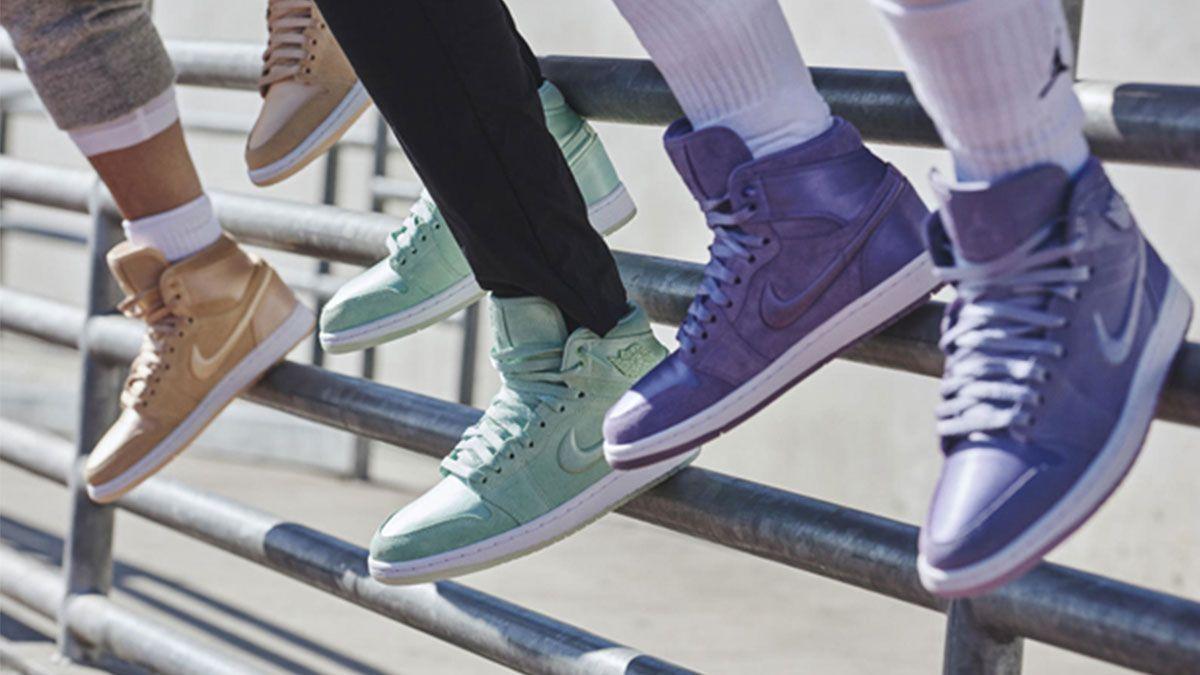 美到讓人難以抉擇!Air Jordan I SOH推出10款粉嫩馬卡龍色絨面球鞋