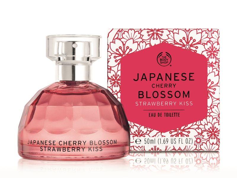 The Body Shop日本櫻花親親草莓香水50ml,NT1,320