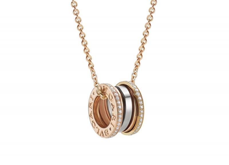 CL858369_B.zero1 Labyrinth迷宮系列 玫瑰金與白K金鑲鑽版戒指_參考售價NT$184,900