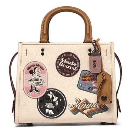 Minnie Mouse Patches Rogue Bag 25_BPCHK  TWD 29,800