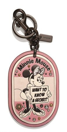 Minnie Mouse Secret Patch Bag Charm TWD 4,900