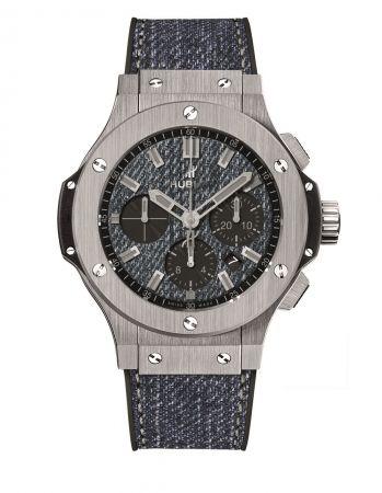 Big Bang系列丹寧精鋼腕錶 NTD455,000
