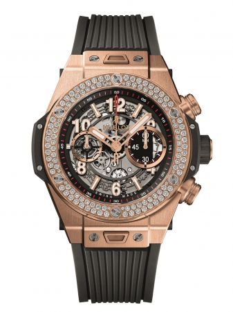 Big Bang Unico系列皇金鑽圈腕錶 NTD1,403,000