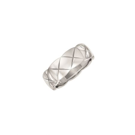 CHANELCoco Crush戒指_小型款18K白金建議售價NT76,000