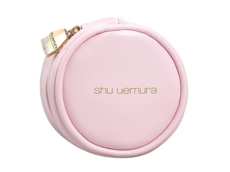 shu uemura植村秀#55零刷痕粉底刷專用粉紅刷具包