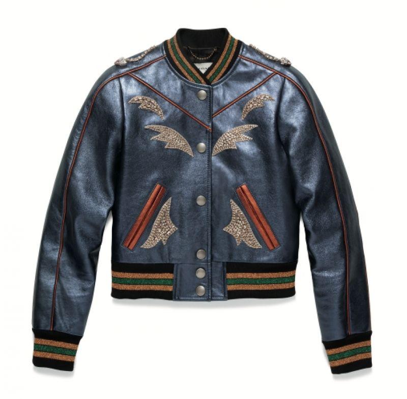 Varsity皮外套,NT45,800,Coach x Keith Haring。