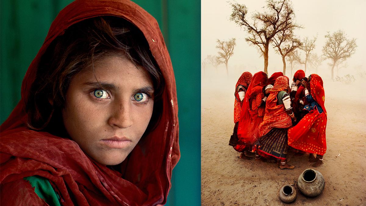 經典攝影作品〈阿富汗少女〉來台展出!台北當代藝術館《晃│影-史帝夫・麥柯里個展》