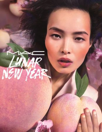 M.A.C桃情蜜意農曆新年系列形象圖