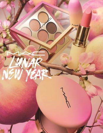 M.A.C桃情蜜意農曆新年系列產品形象圖
