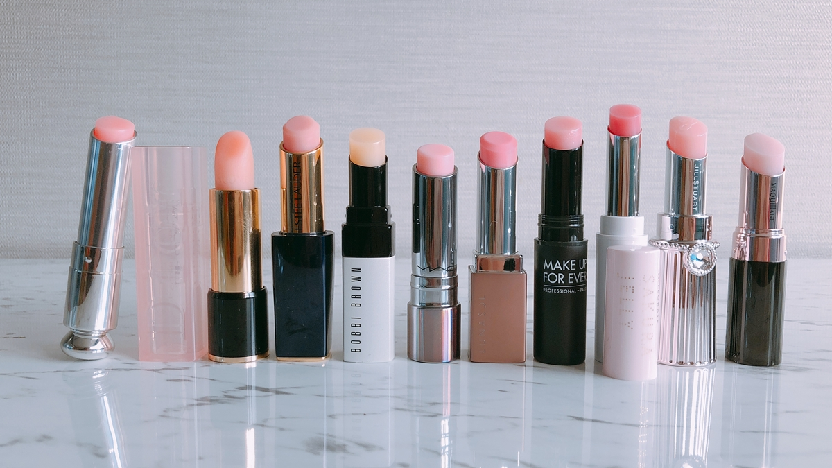 化妝包必備護唇膏!10款超夢幻粉紅色護唇膏盤點,每支都讓人想無限回購
