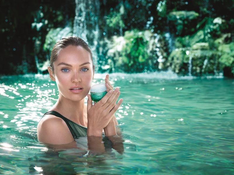 BIOTHERM 碧兒泉水光保濕系列全球代言人Candice Swanepoel