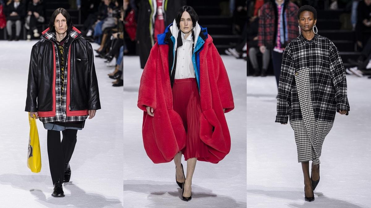 【巴黎時裝週】模特兒們一次穿9件大衣走秀!Balenciaga秋冬給你滿滿的超狂防寒穿搭靈感