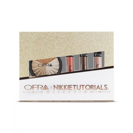 OFRA x NikkiTutorials迷人魅力聯名系列 #702 (魅惑液態唇膏Spell#94、Coven#96+Nude Potion#95+激光打亮盤Ever Glow#17),NT1,990