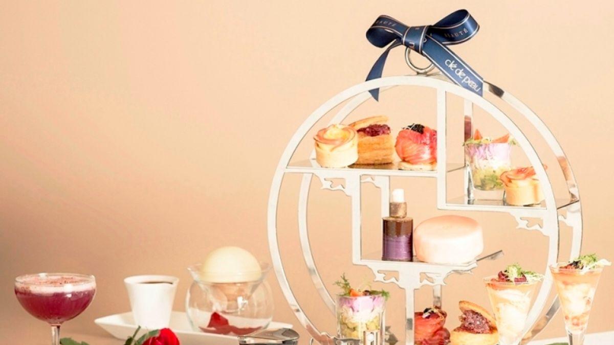 綻放玫瑰浪漫 馬可波羅酒廊 x 肌膚之鑰 極致玫瑰閃耀綻放聯名下午茶