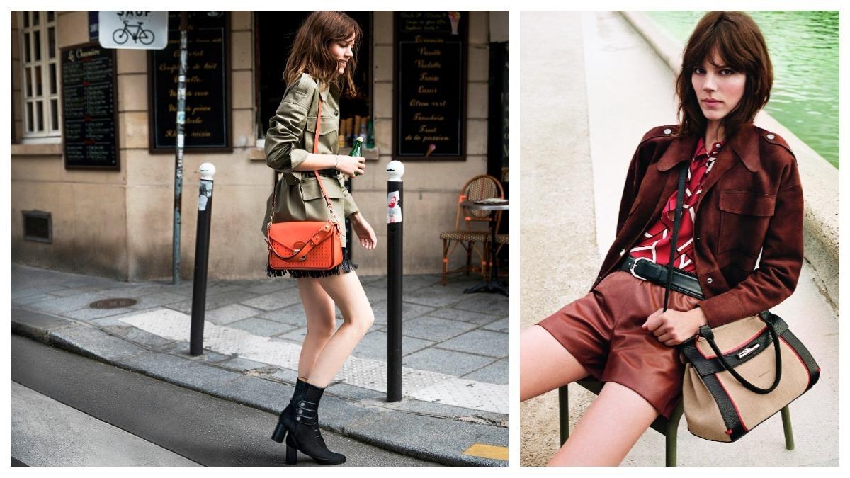 超模Freja的巴黎風造型太迷人!Longchamp最新廣告大片,讓人想穿新衣揹新包遊巴黎啊~