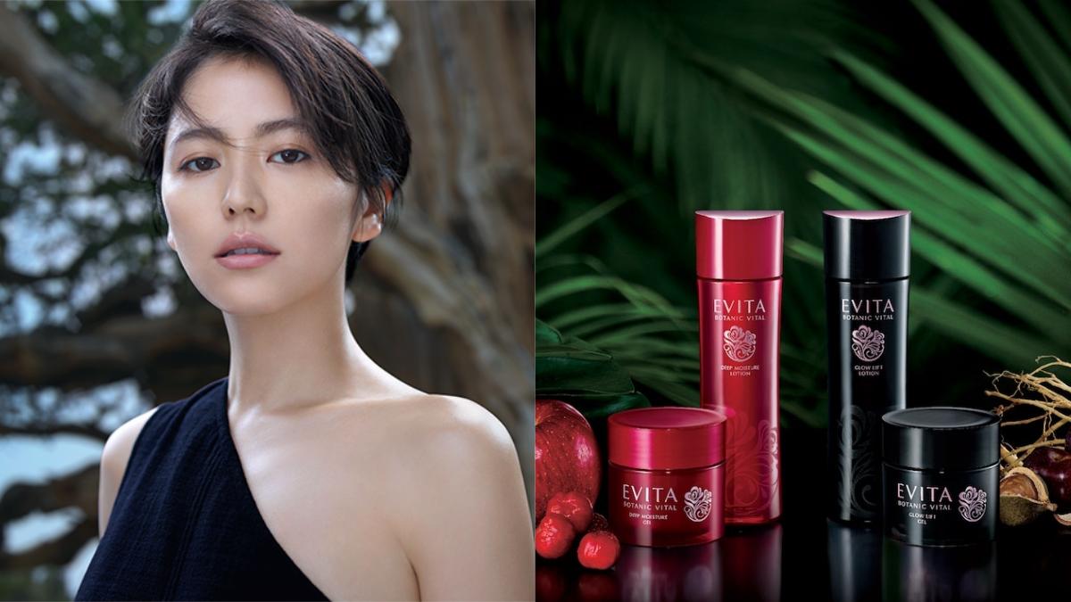 日本開架保養Evita全面Renew!和代言人長澤雅美一起沈浸在玫瑰植萃保養裡面吧!