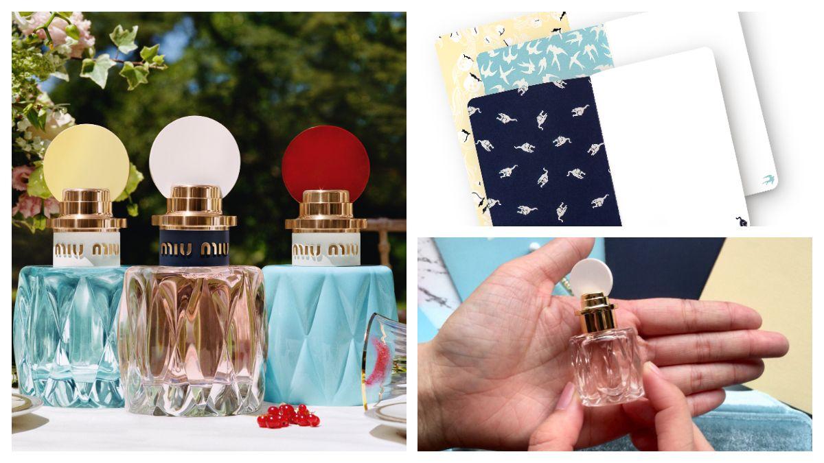 Miu Miu推出2018春季全新香氛禮盒及迷你香水、旅行香氛、春日嬉遊筆記本、天鵝絨珠寶收納盒等週邊超萌小禮!