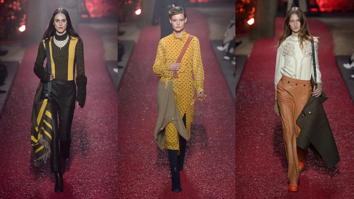 【巴黎時裝週】每一件大衣都生火!愛馬仕2018秋冬大秀打造皮革控的時髦日常
