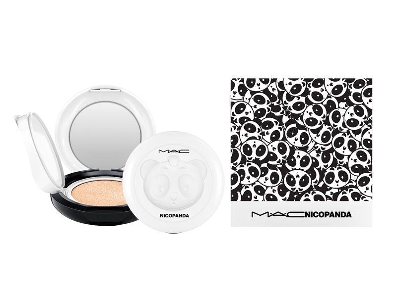 M.A.C X NICOPANDA超顯白氣墊粉餅組(NICOPANDA聯名氣墊粉盒正貨+超顯白氣墊粉蕊正貨*2),NT2,900