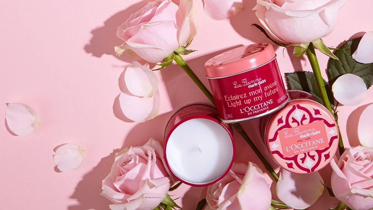 點亮你的粉紅蠟燭傳遞愛吧! 請跟著歐舒丹&美麗佳人攜手讓台灣小女生感受幸福