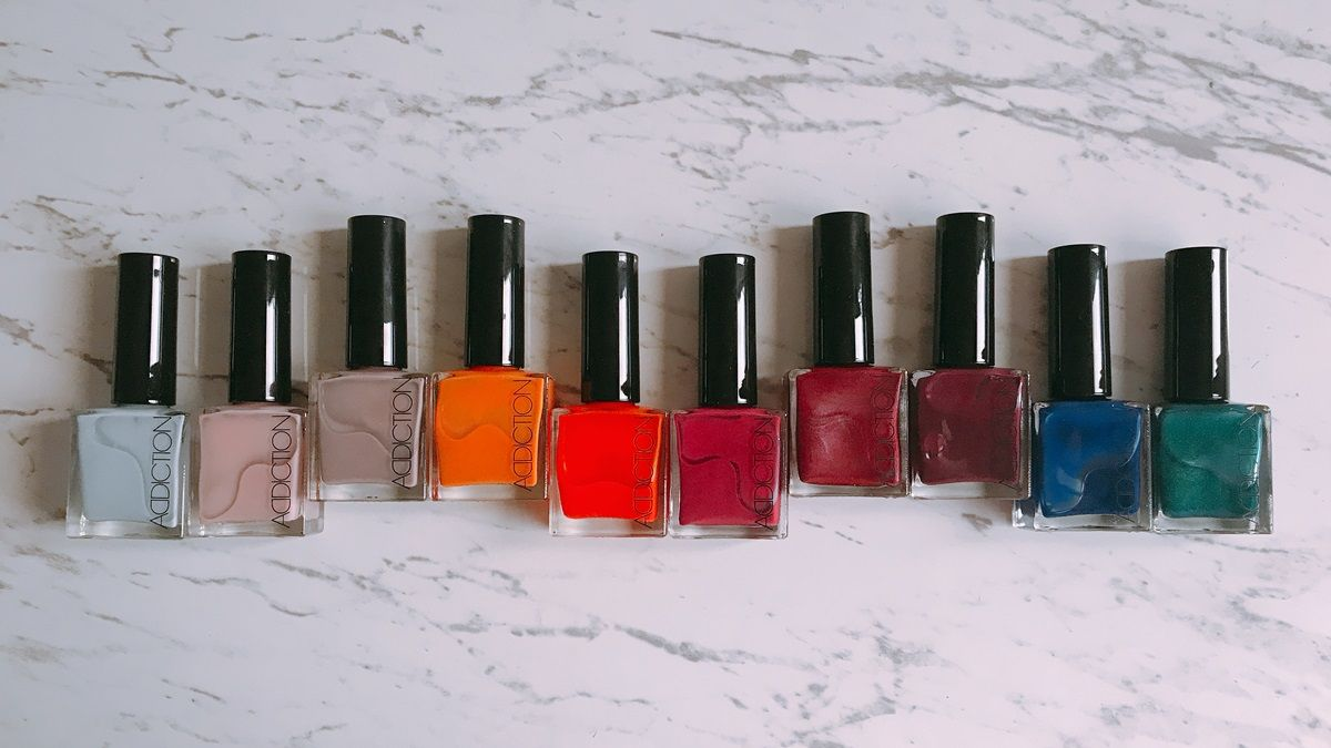 每一款都要媲美彩色寶石的光澤、亮度!ADDICTION「玩彩癮色指彩油」推出10款限定色太值得收藏