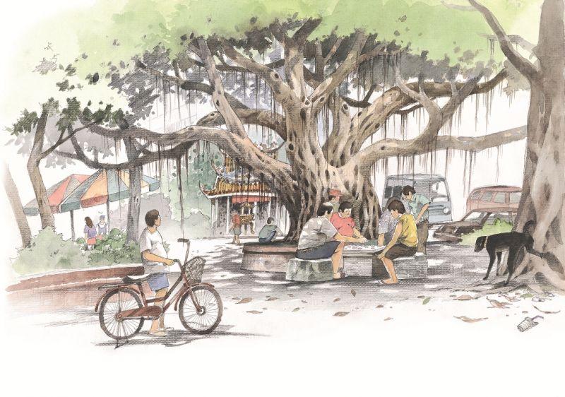 黃崑謀繪本《看見台灣大樹》