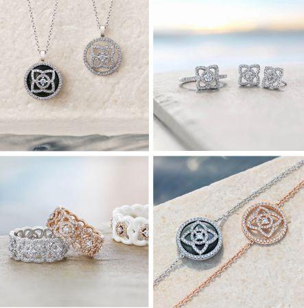 讓妳在任何場合中都能運用創意配戴出專屬於自己的輕奢珠寶Style,而且全系列的項鍊、手鍊、耳環…作品在十萬元預算以內都可以有多種選擇,對於想要入手鑽石珠寶首飾的小資女孩說,真的很適合!