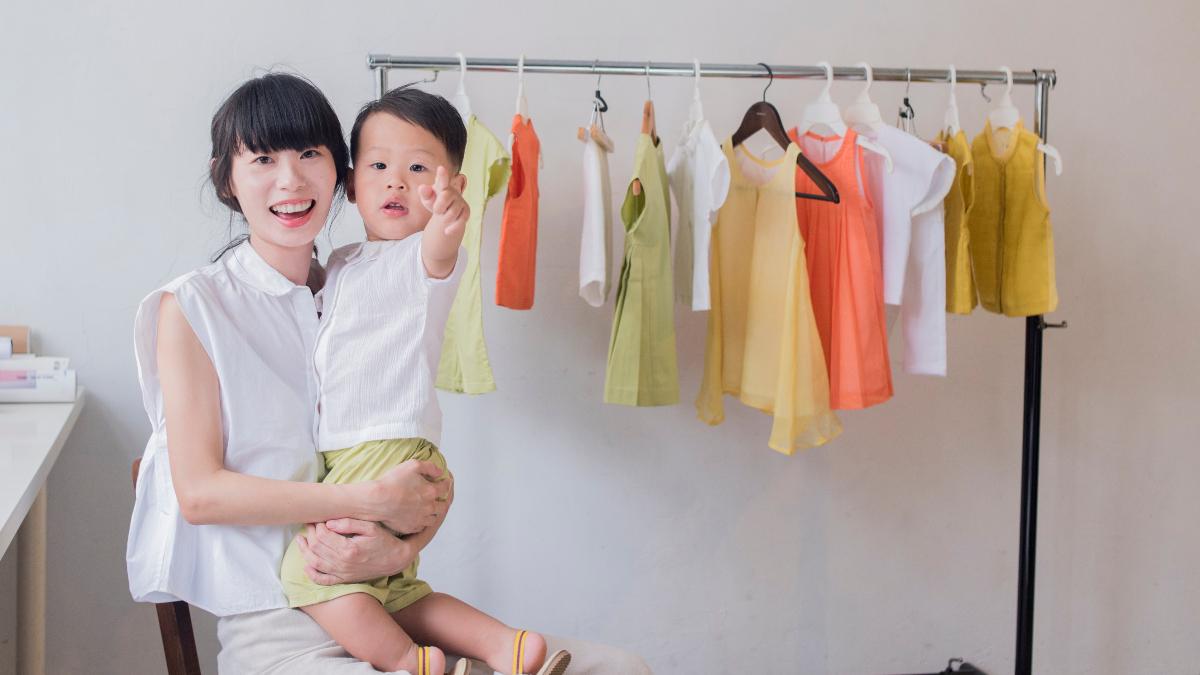 孩子的衣服該如何選?療癒童裝品牌「Moi Délicate」, 設計師 Mischa:「讓孩子回歸最純粹的模樣。」