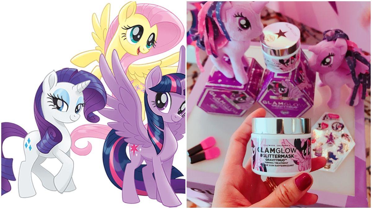 GLAMGLOW 跨界彩虹小馬My Little Pony 少女心全開的閃亮亮面膜