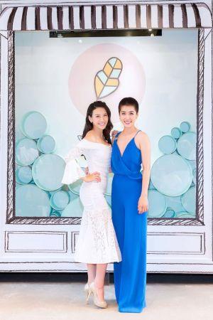 Oui Organic唯有機品牌創辦人-艾莉絲與多年好姊妹小嫻十年首度公開合體